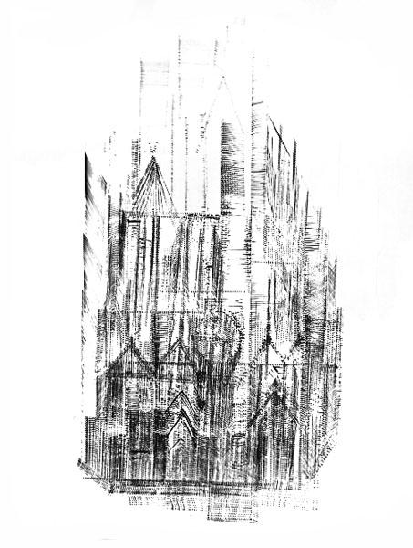 Geröntgte Kathedrale